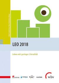 Deckblatt der Veröffentlichung LEO 2018