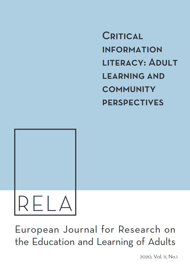 Titelseite des RELA-Journals